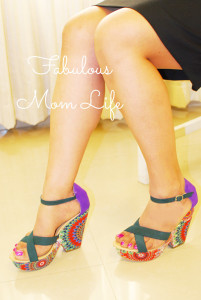Colorful Paisley Patterned Wedges