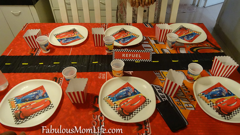 Cars Theme Party Ideas Games and Table Decor Fabulous Mom Life