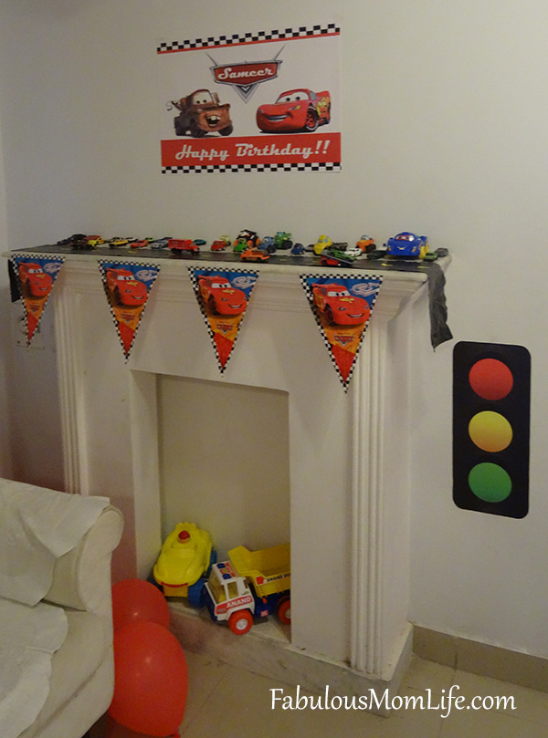 Cars Birthday Party Decoration
