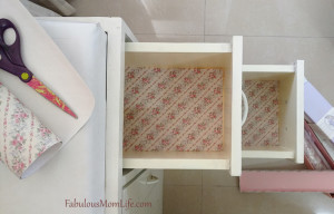 Decorating with Scented Drawer Liners