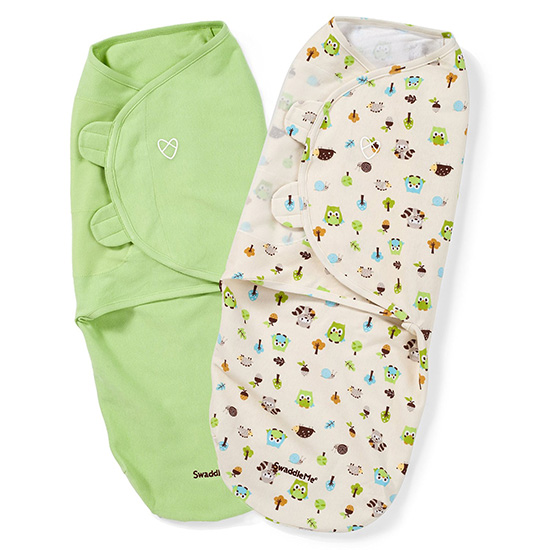 SwaddleMe Wraps Woodland Friends 2 Pack