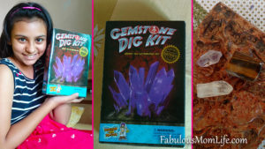 Gemstone Dig Kit India - A Review of the Coolest Summer Activity for Older Kids