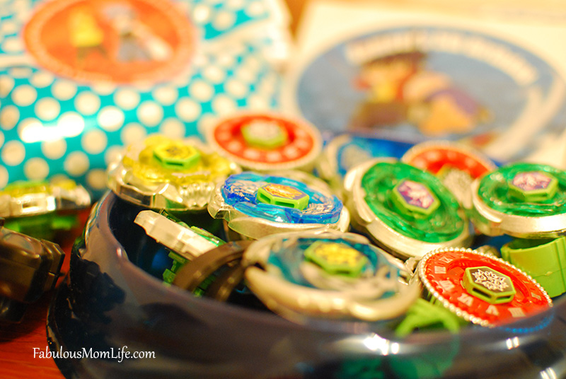 beyblades for party favors/return gifts