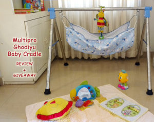 Multipro Ghodiyu Baby Cradle Review + Giveaway