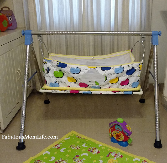 Multipro Ghodiyu Baby Cradle Review Giveaway Fabulous
