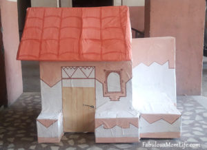 How to Make a House Model Using Cardboard Boxes for School Projects