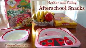 Healthy and Filling Afterschool Snacks
