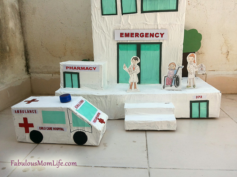 Ambulance Art And Craft