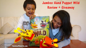 Jumboo Hand Puppets Wild: Review + Giveaway (10 Lucky Winners)