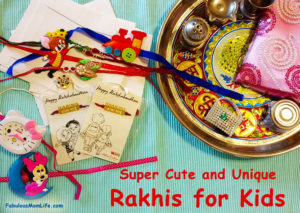 Super Cute and Unique Rakhis for Kids: Haul
