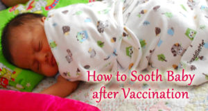 5 Ways to Soothe Your Baby After Vaccination
