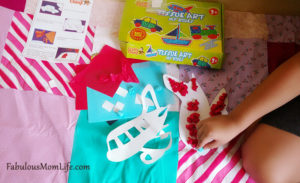 Crafty Chimp Tissue Art Kit – Review + Giveaway