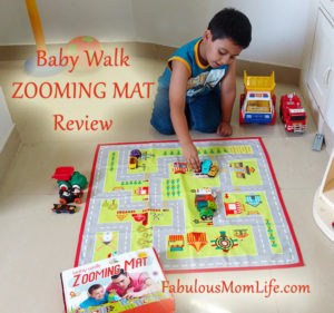 BabyWalk Zooming Mat Review – Driving Fun For Car Crazy Kids