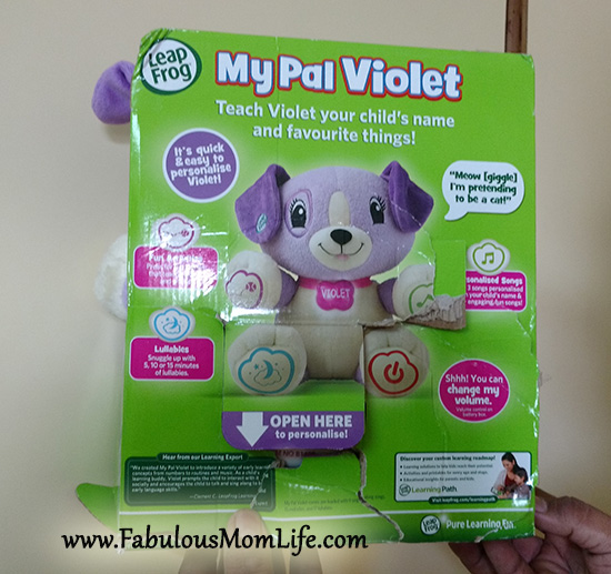Leapfrog My Pal Violet Review Fabulous Mom Life