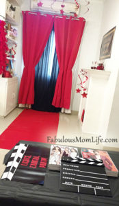 Movie Awards Night/Red Carpet Party & Table Decorating Ideas