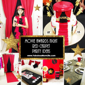 Movie Awards Night Red Carpet Party Ideas for Tween/Teen Girls