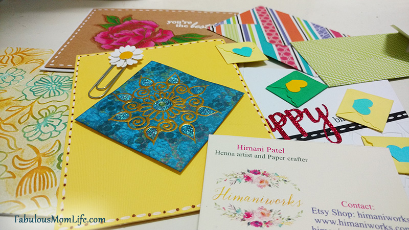 handmade cardsetsy store himaniworks review