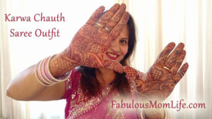 Karwa Chauth Outfit Details
