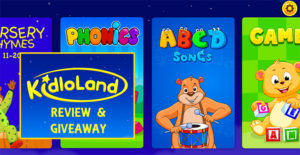 KidloLand Kids Activities App – Review + Giveaway