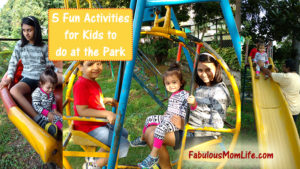 5 Fun Activities for Kids to do at the Park