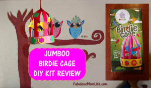 Jumboo Birdie Cage DIY Craft Kit Review