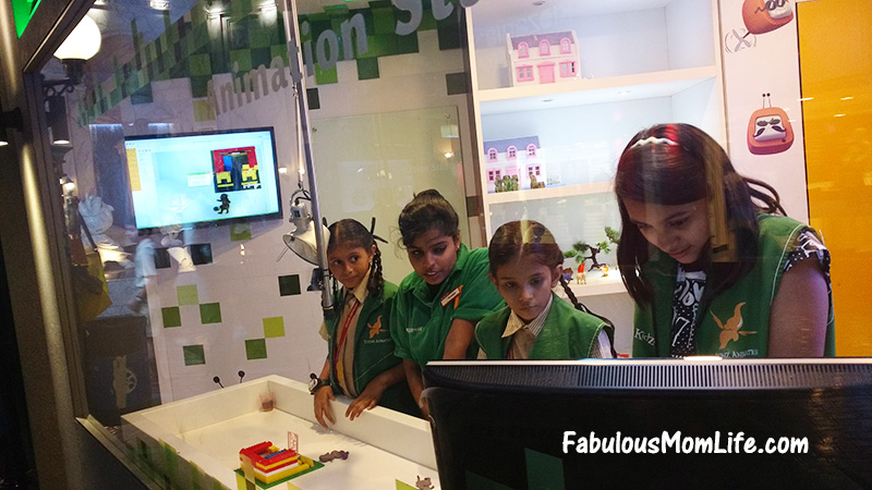 kidzania mumbai review animation activity