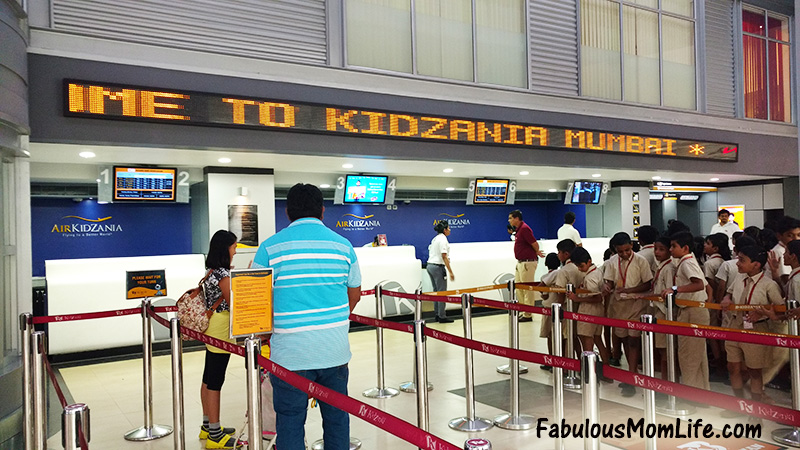 kidzania mumbai review entry