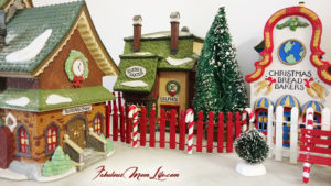 Take a Walk In My North Pole Christmas Village