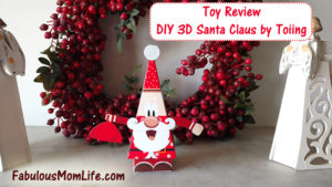 Toy Review: DIY 3D Santa Claus by Toiing