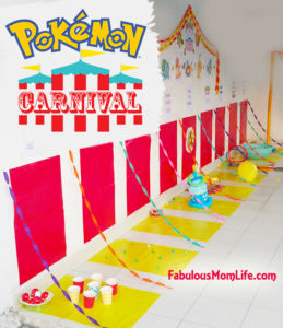 A Pokemon Carnival 6th Birthday Party