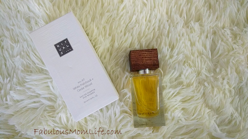rituals white patchouli and cedar wood perfume