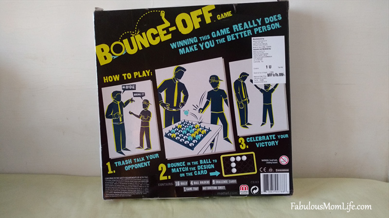 Bounce Off Toy/Game Review