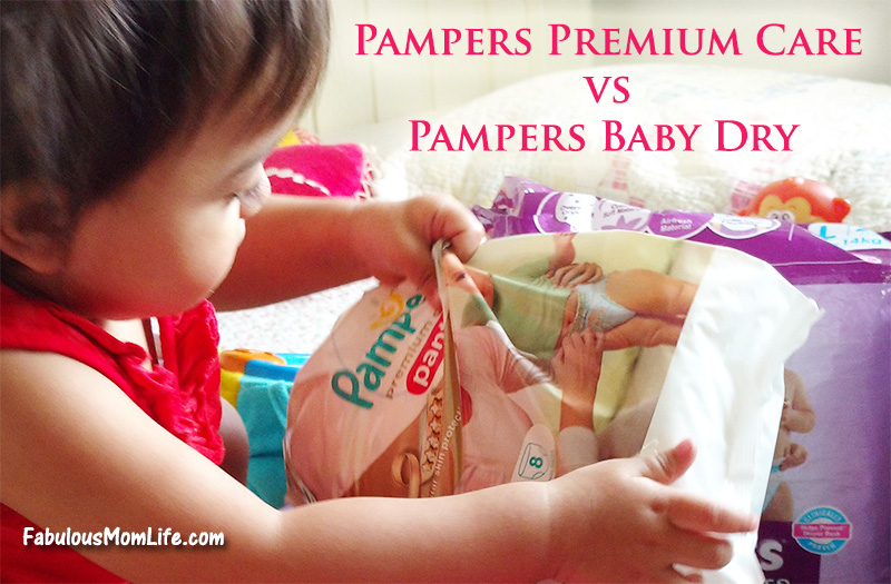 Pampers Premium Care vs Pampers Baby Dry Diaper Pants