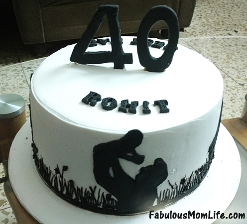 40th Birthday Cake For Dad