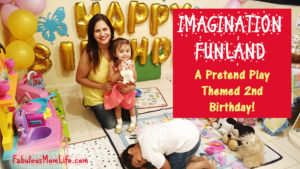 Imagination Funland – A Pretend Play Themed 2nd Birthday Party