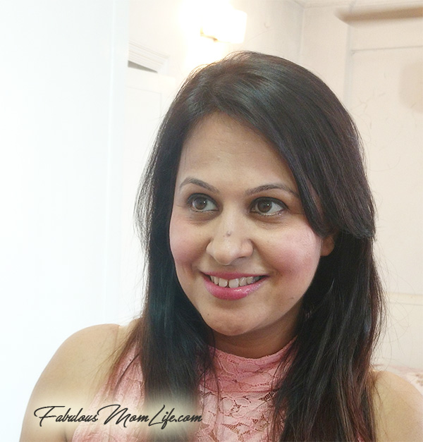 Indian Mom Pink Casual Day Makeup