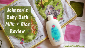 Johnson's Baby Bath Milk+Rice Review