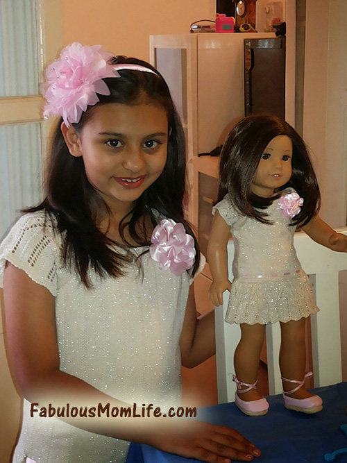 My American Girl Doll in India - Matching Outfits
