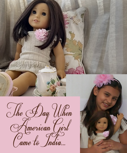 My American Girl Doll in India