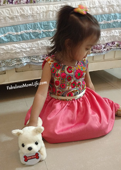 Indian Ethnic Embroidered Pink Dress - Toddler Girl Party Fashion Outfit