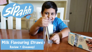 Sipahh Straws India – Review + Giveaway