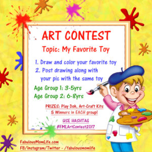 Art Contest by Fabulous Mom Life for Indian Kids
