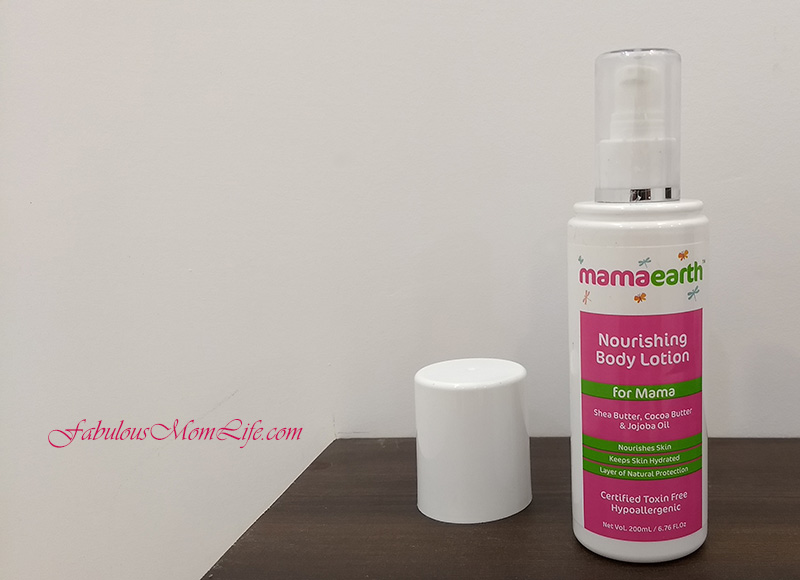 mamaearth body lotion review