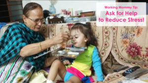 Working Mommy Tip: Ask for Help to Reduce Stress