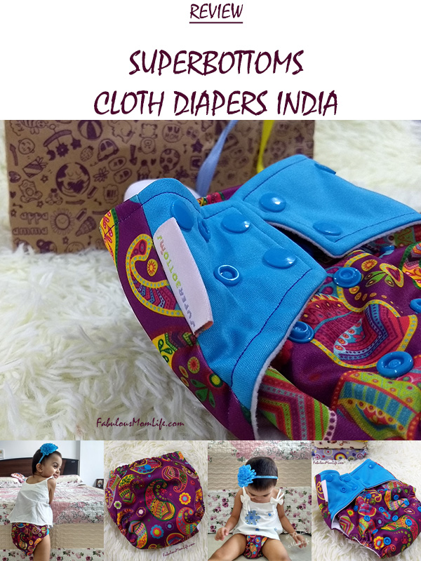 Superbottoms Cloth Diapers India Review