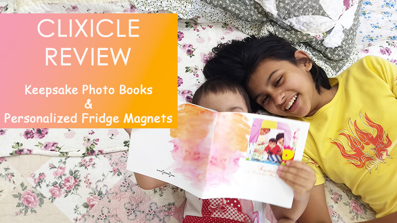 Clixicle Review: Keepsake Photo Books and Personalized Fridge Magnets
