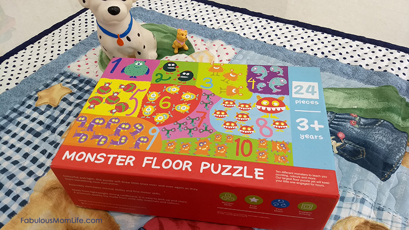 Shumee Monster Floor Puzzle