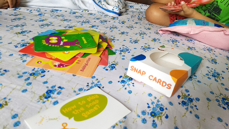 Shumee Monster Snap Cards