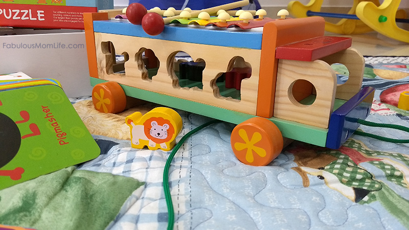 Shumee Toys Musical Animal Truck Review