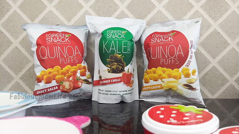 Healthy After School Snacking Options with The Green Snack Co